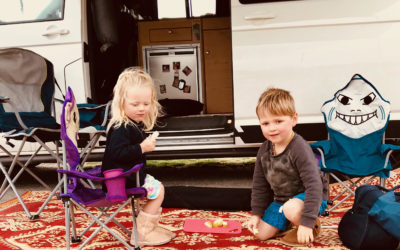Tips for feeling safe when camping solo with kids