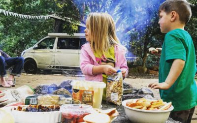 Healthy (ish) snacks for road trips with kids